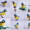 Une Mésange bleue en… Lego